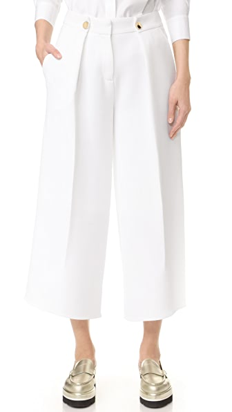 Victoria Victoria Beckham Юбка-брюки с отворотом спереди