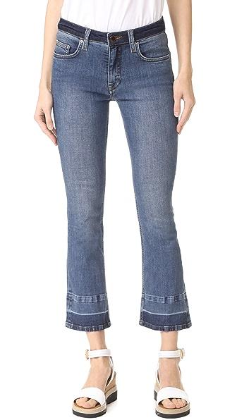 Victoria Victoria Beckham Слегка расклешенные джинсы