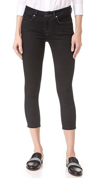 Victoria Victoria Beckham Укороченные джинсы-скинни