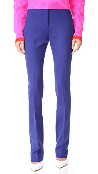Victoria Victoria Beckham Straight Pants - Indigo