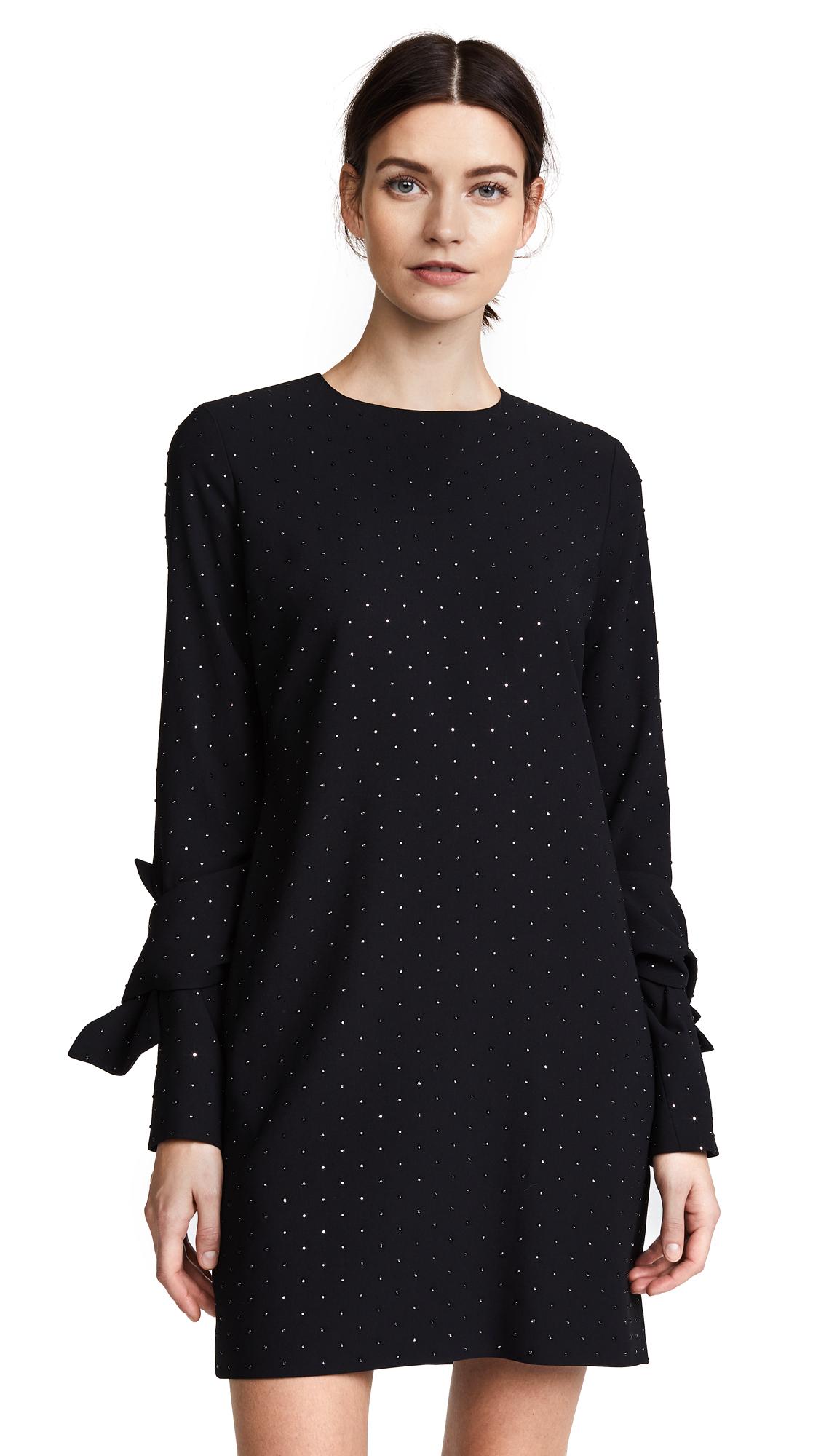 Victoria Victoria Beckham Twist Sleeve Shift Dress