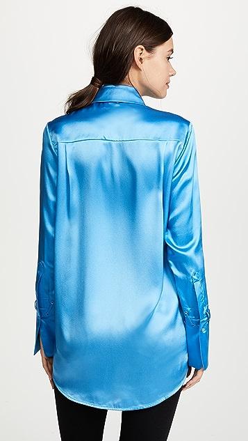 Victoria Victoria Beckham One Pocket Fluid Shirt