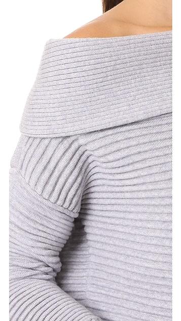 Victoria Victoria Beckham Off The Shoulder Sweater