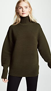 Victoria Victoria Beckham 弧形袖高领毛衣