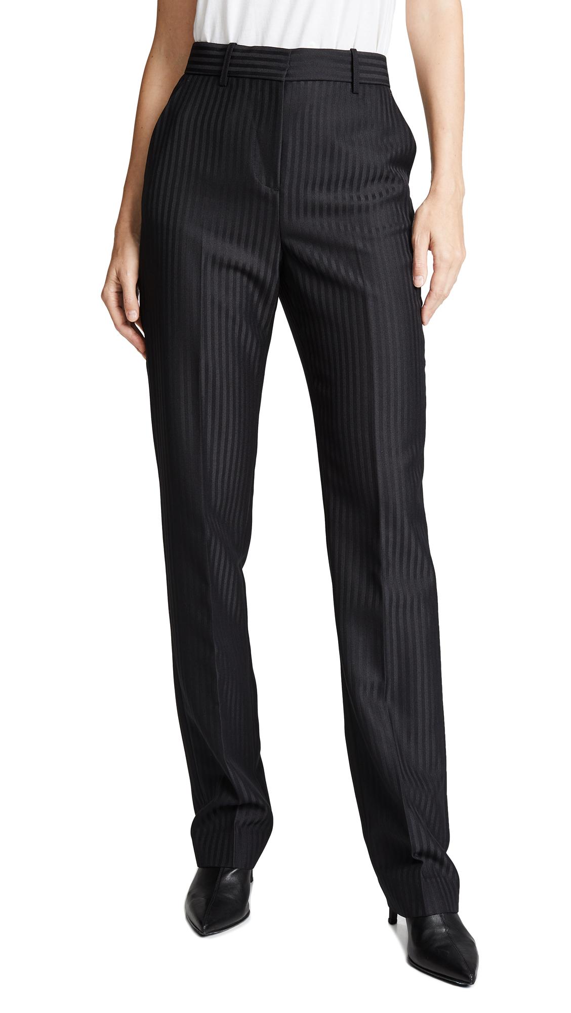 Victoria Victoria Beckham Slim Tailored Pants In Black