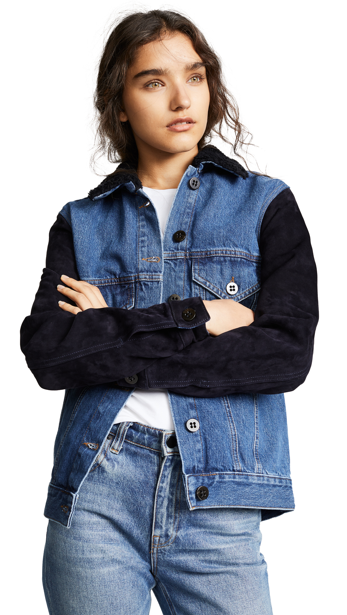 Victoria Victoria Beckham Oversized Denim Jacket