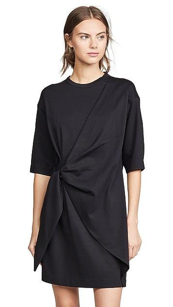 Photo of  Victoria Victoria Beckham Tie Front Dress - shop Victoria Victoria Beckham dresses online sales