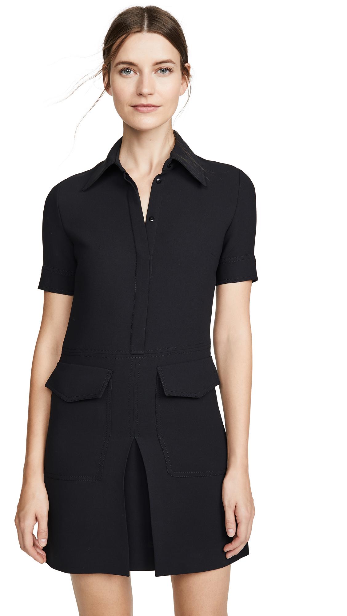 Buy Victoria Victoria Beckham online - photo of Victoria Victoria Beckham Short Sleeve Pocket Dress