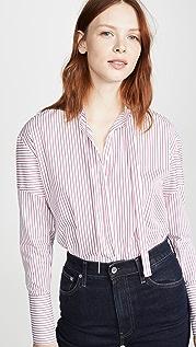 Victoria Victoria Beckham Tie Detail Shirt