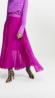 Victoria Victoria Beckham Плиссированная юбка