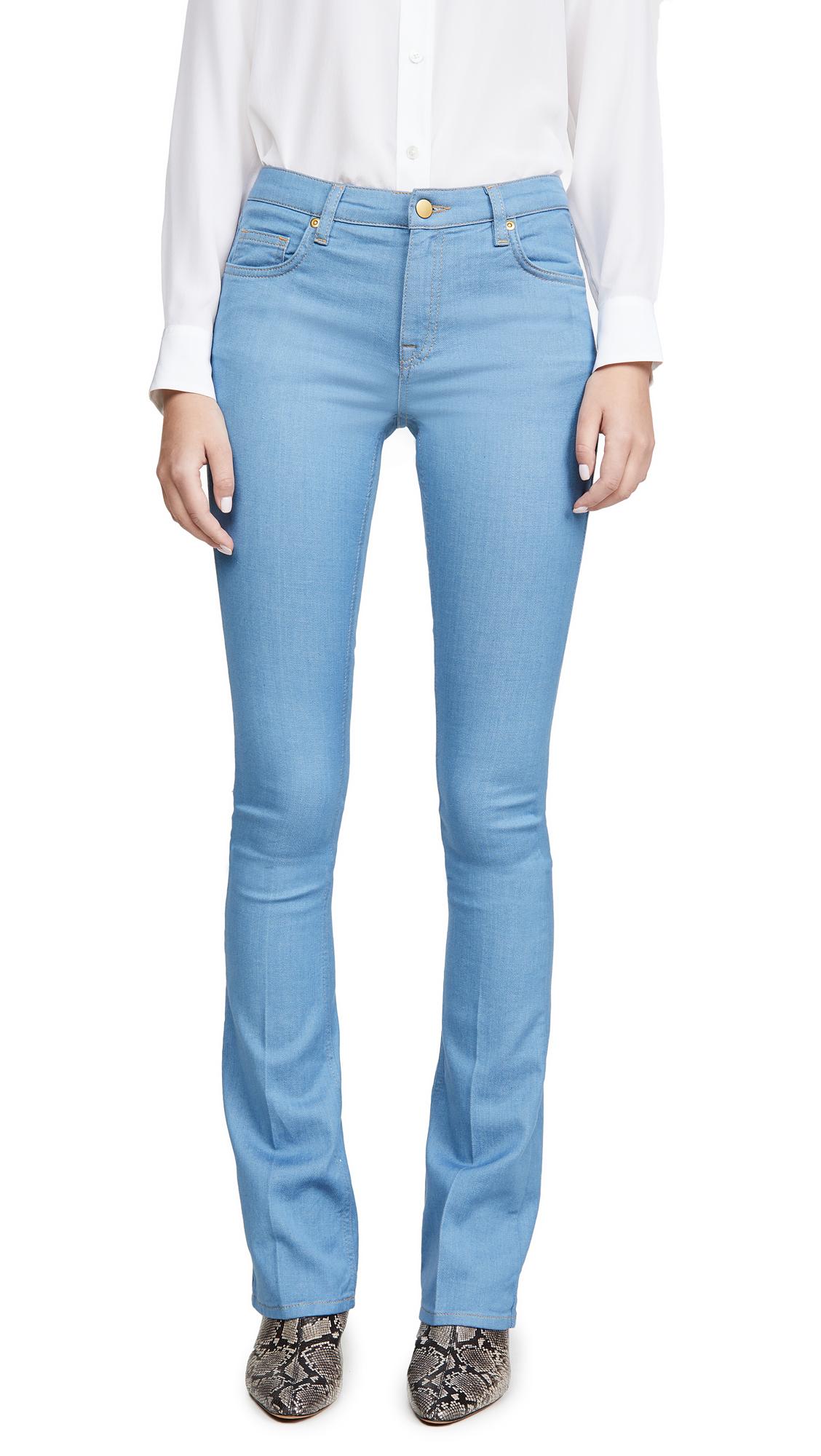 Buy Victoria Victoria Beckham online - photo of Victoria Victoria Beckham Slim Flare Jeans