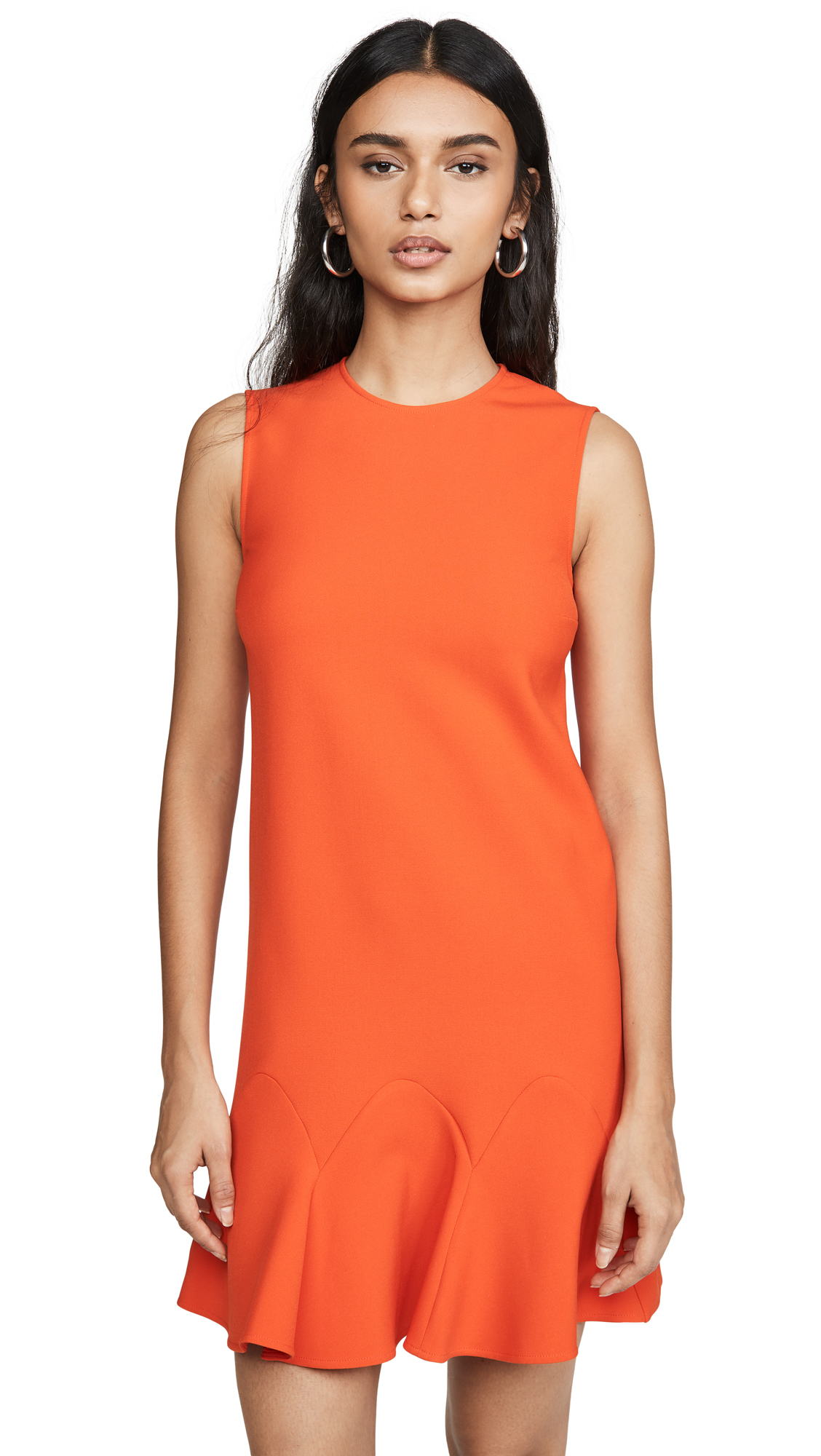 Victoria Victoria Beckham Flounce Hem Shift Dress - 50% Off Sale
