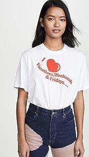 Victoria Victoria Beckham I Heart Weekends T-Shirt