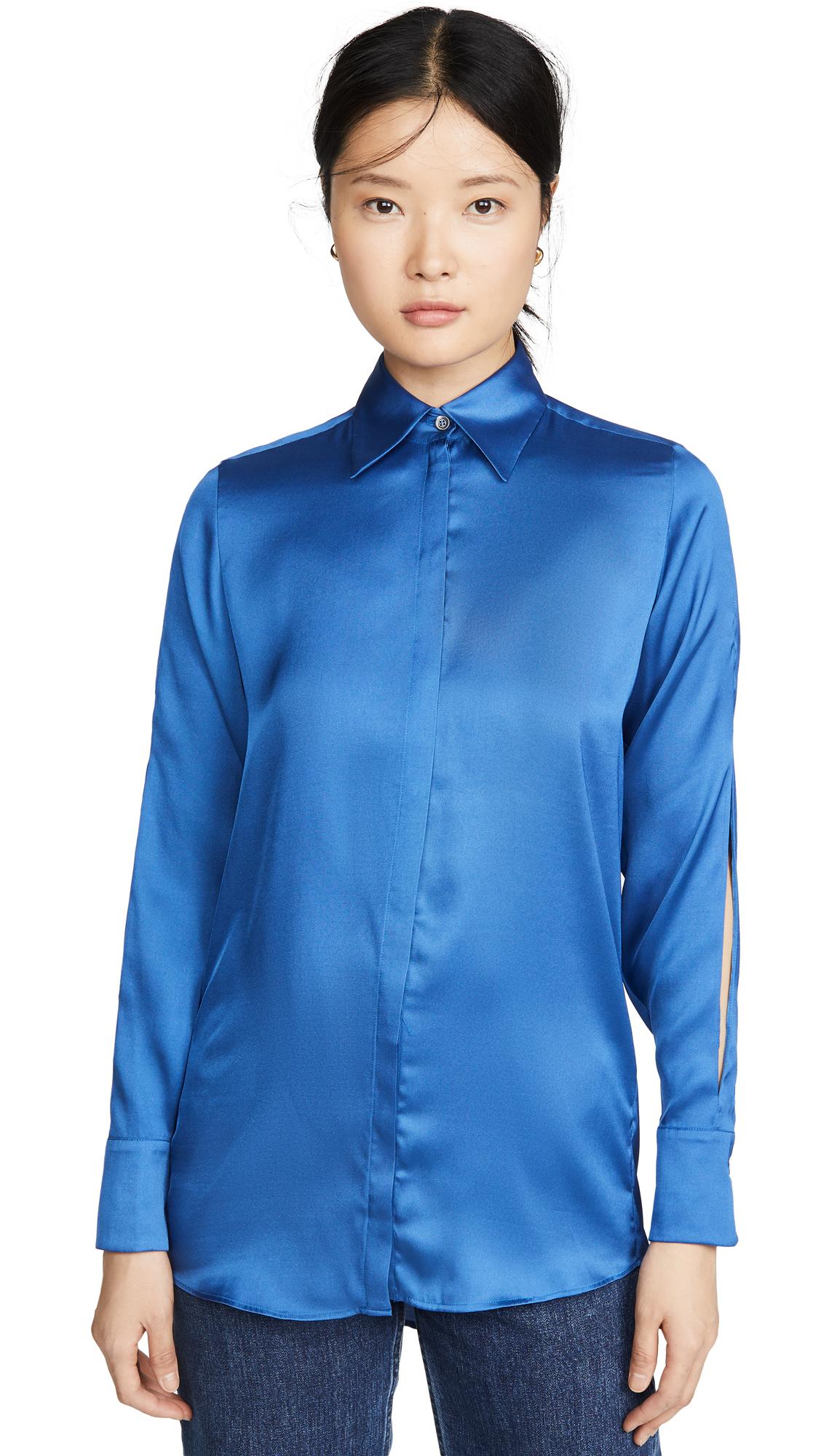 Victoria Victoria Beckham Split Sleeve Shirt - 60% Off Sale
