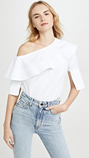 Victoria Victoria Beckham Off Shoulder Top