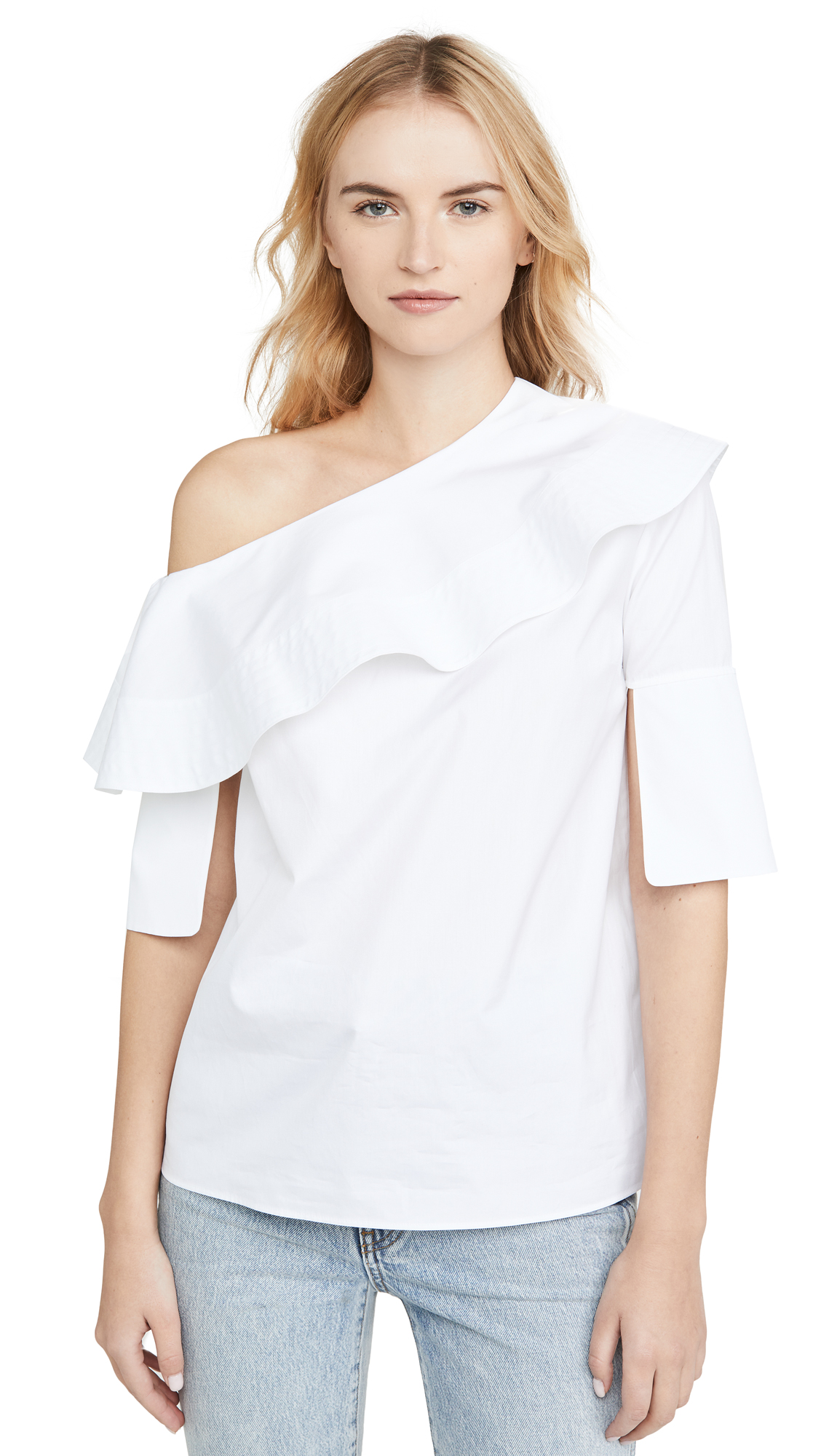 Buy Victoria Victoria Beckham online - photo of Victoria Victoria Beckham Off Shoulder Top