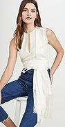 Victoria Victoria Beckham 流苏围巾上衣