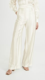 Victoria Victoria Beckham Wide Leg Trousers