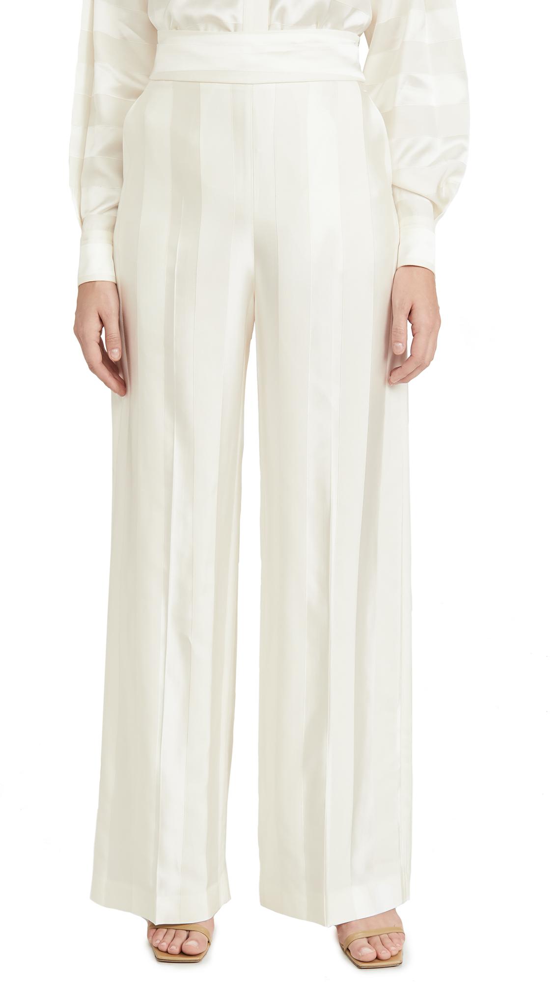 Buy Victoria Victoria Beckham online - photo of Victoria Victoria Beckham Wide Leg Trousers