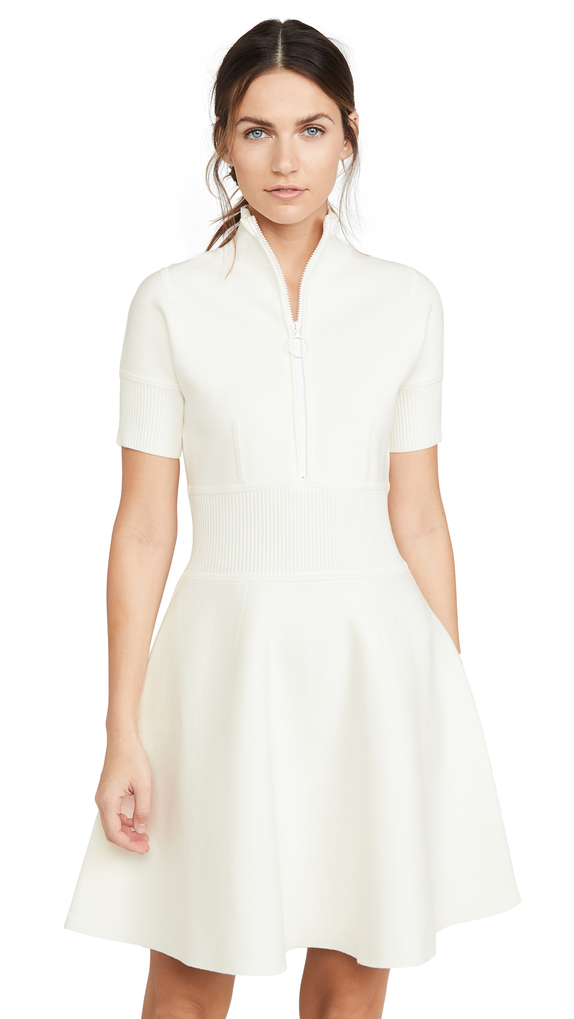 Buy Victoria Victoria Beckham online - photo of Victoria Victoria Beckham EXL High Neck Mini Dress