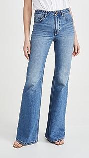 Victoria Victoria Beckham 超高腰喇叭牛仔裤