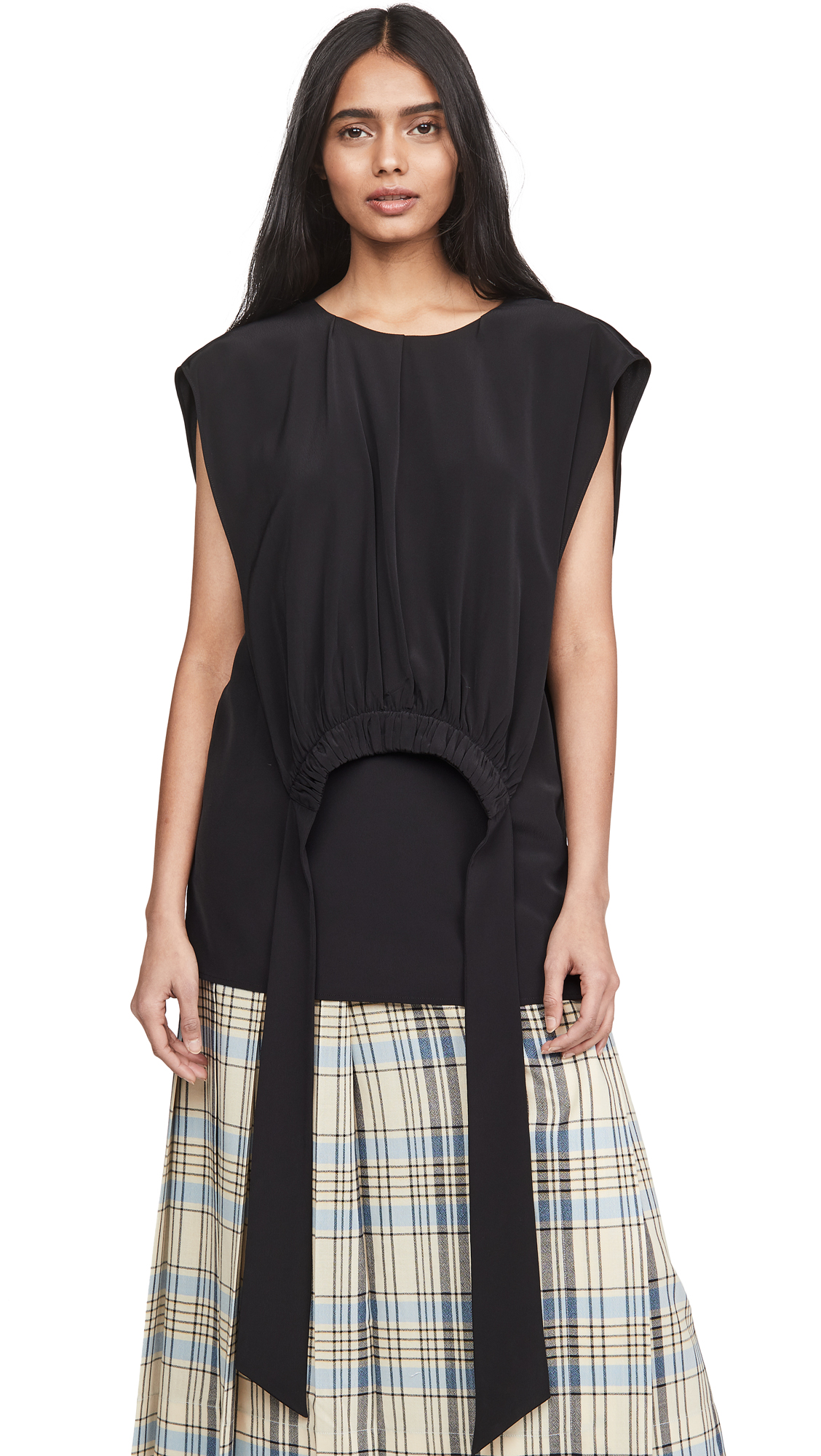 Victoria Victoria Beckham Gathered Bib Top - 30% Off Sale