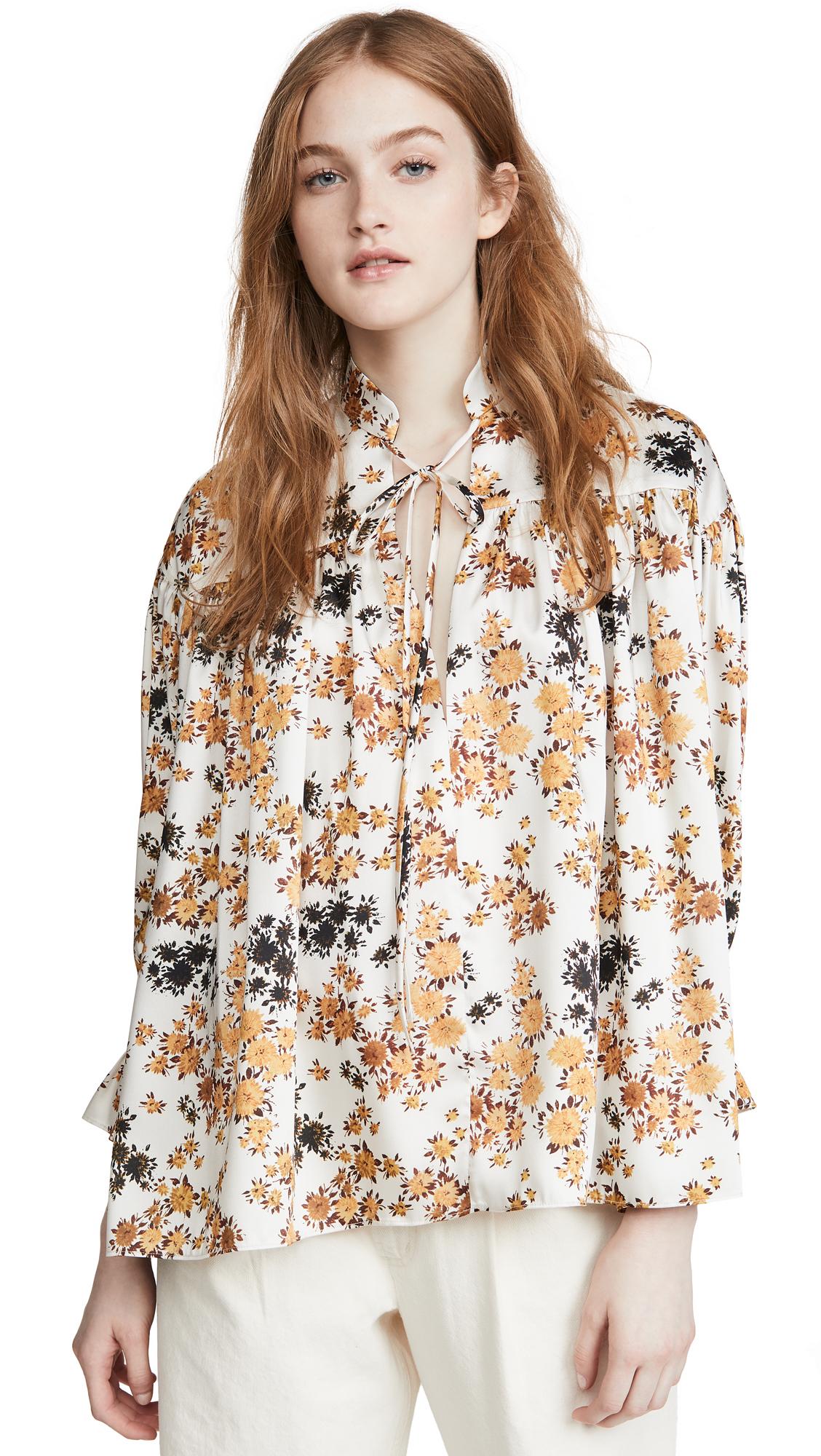 Victoria Victoria Beckham Tie Sleeve Overshirt - 30% Off Sale