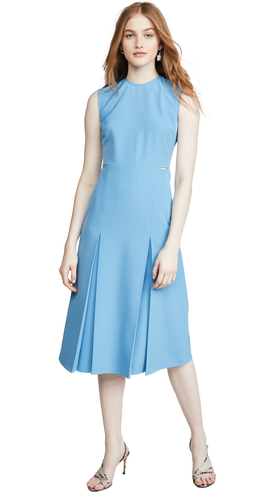 Victoria Victoria Beckham Slit Detail Dress - 40% Off Sale