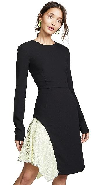 Walk of Shame Crepe Black Dress