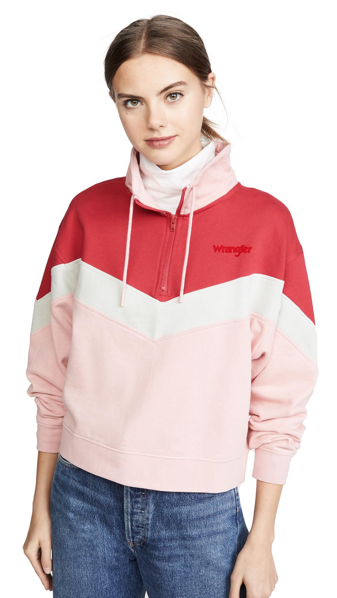 Buy Wrangler online - photo of Wrangler Cut & Sew Sweatshirt