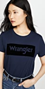Wrangler 徽标 T 恤