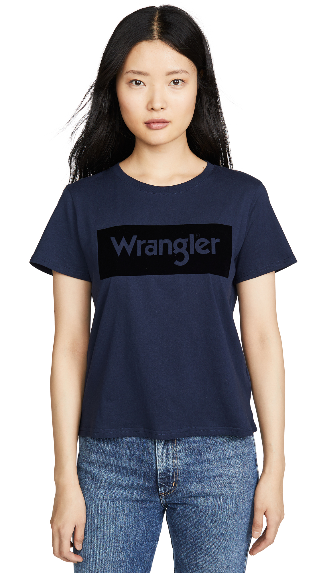 Buy Wrangler online - photo of Wrangler Logo Tee
