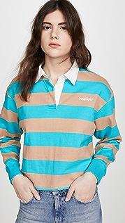 Wrangler 短款马球衫