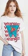 Wrangler Oversized Logo Tee