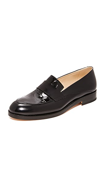 WANT LES ESSENTIELS Tereza Loafers In Black/Black