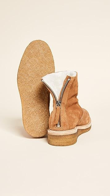 WANT LES ESSENTIELS Stevie Crepe Sole Ankle Booties