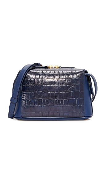 WANT LES ESSENTIELS City Bag - Navy Croc/True Blue
