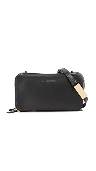 WANT LES ESSENTIELS Demiranda Shoulder Bag - Jet Black