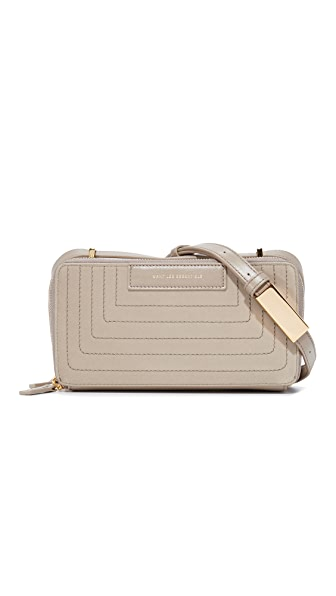 WANT LES ESSENTIELS Demiranda Shoulder Bag - Mushroom Velvet/Mushroom