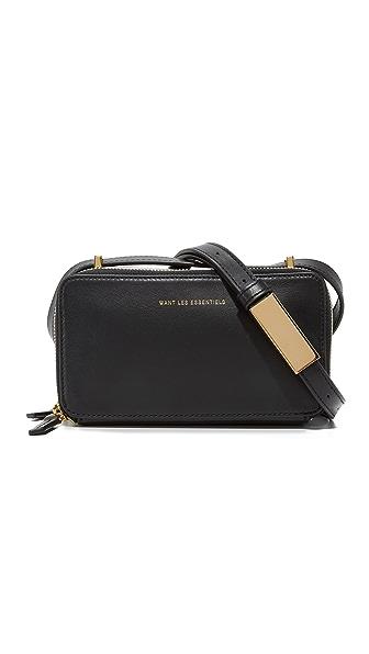 WANT LES ESSENTIELS Mini Demiranda Shoulder Bag - Jet Black