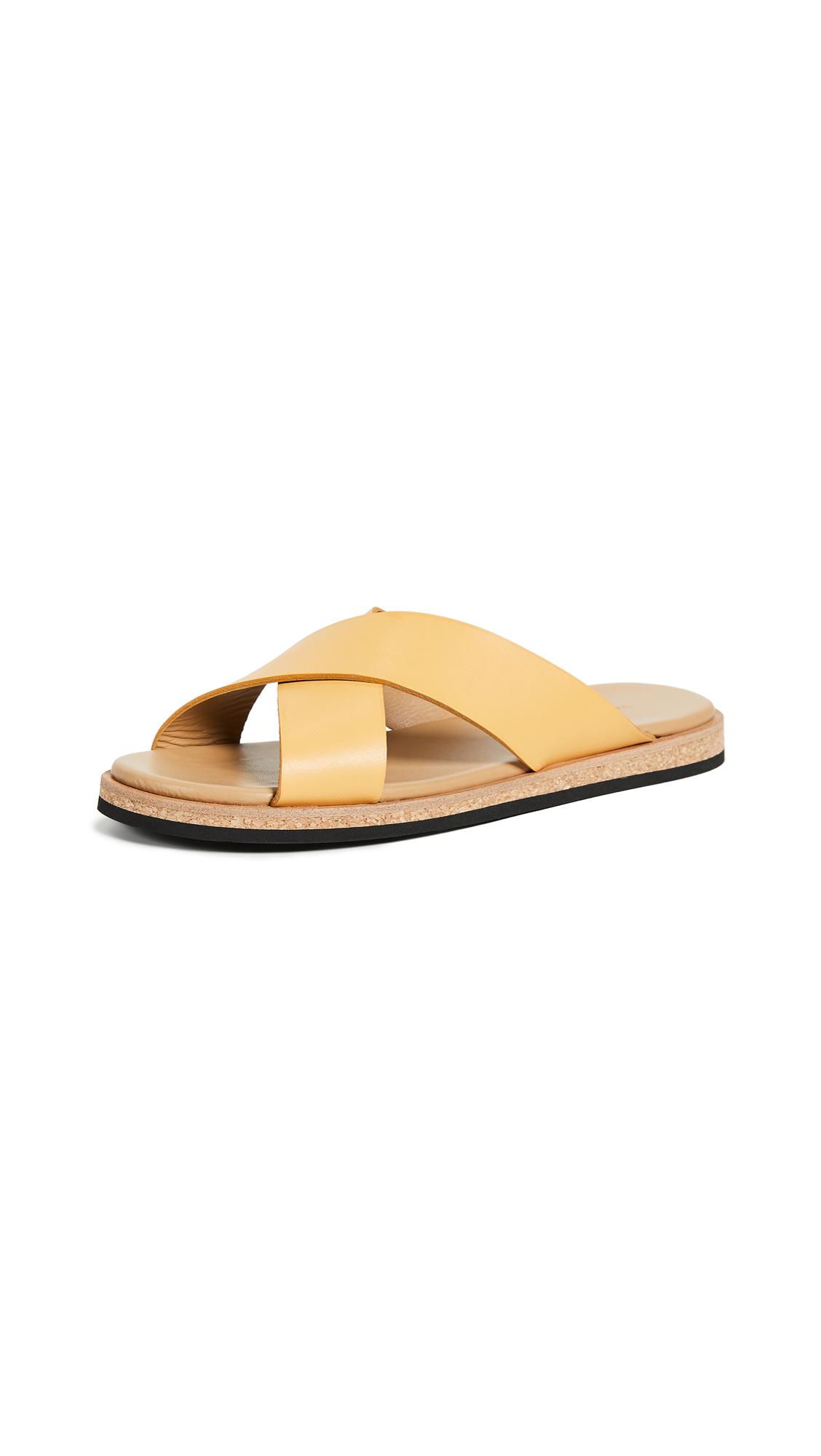 WANT Les Essentiels Kavala Crossover Flat Sandals - Desert Marigold