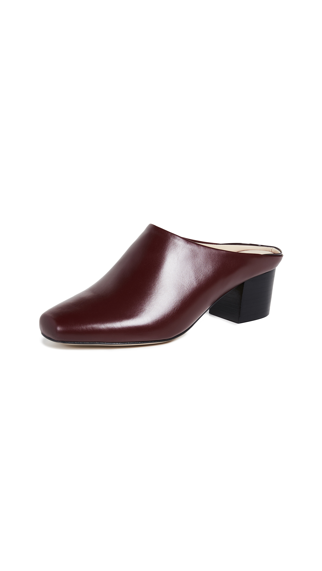 WANT Les Essentiels Alia Mules - Collegiate Red/Black