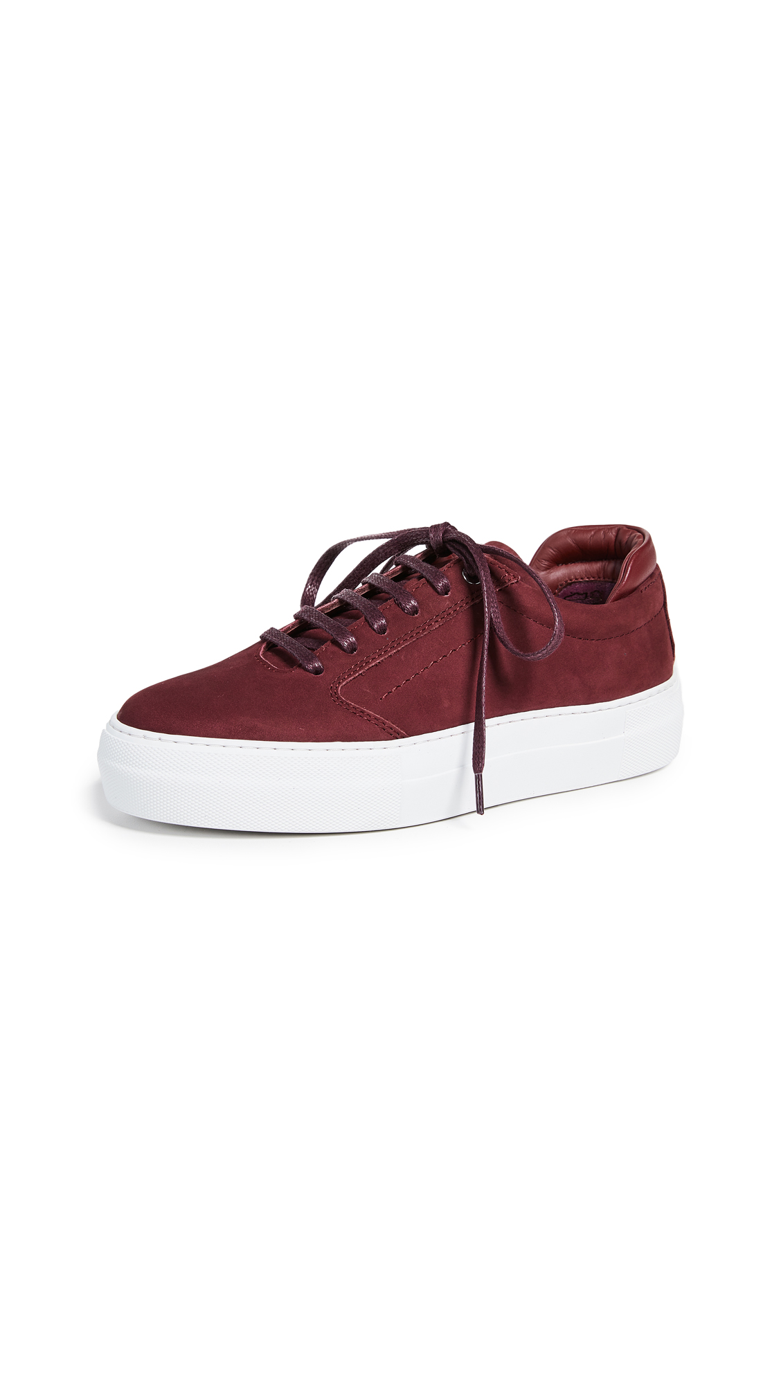 WANT Les Essentiels Lalibela Sneakers - Collegiate Red