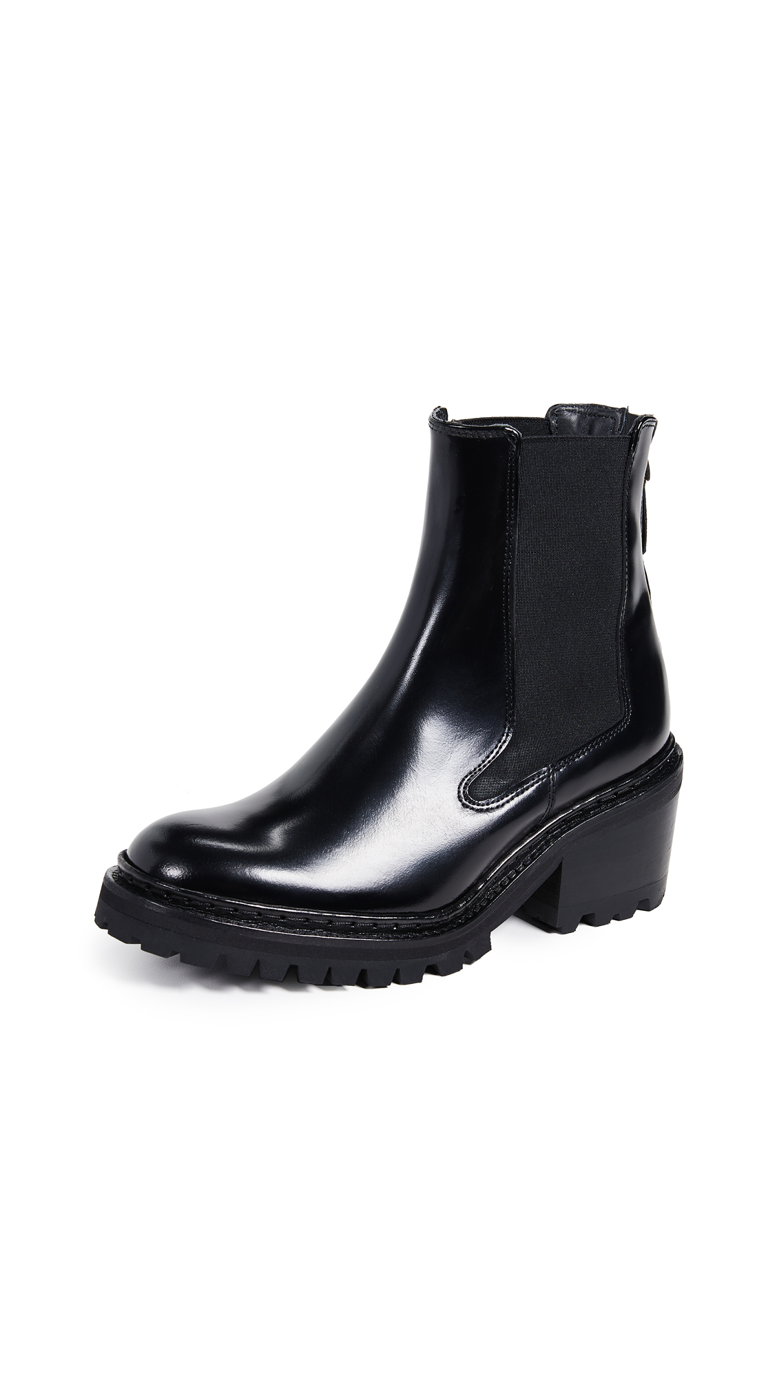 WANT Les Essentiels Valdez Chelsea Boots In Black/Black
