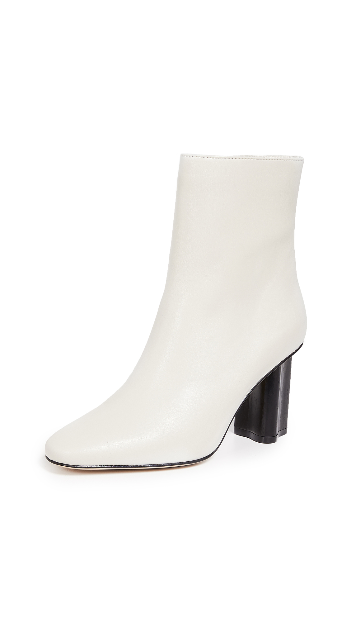 WANT Les Essentiels Lisa Ankle Boots - Chalk/Black