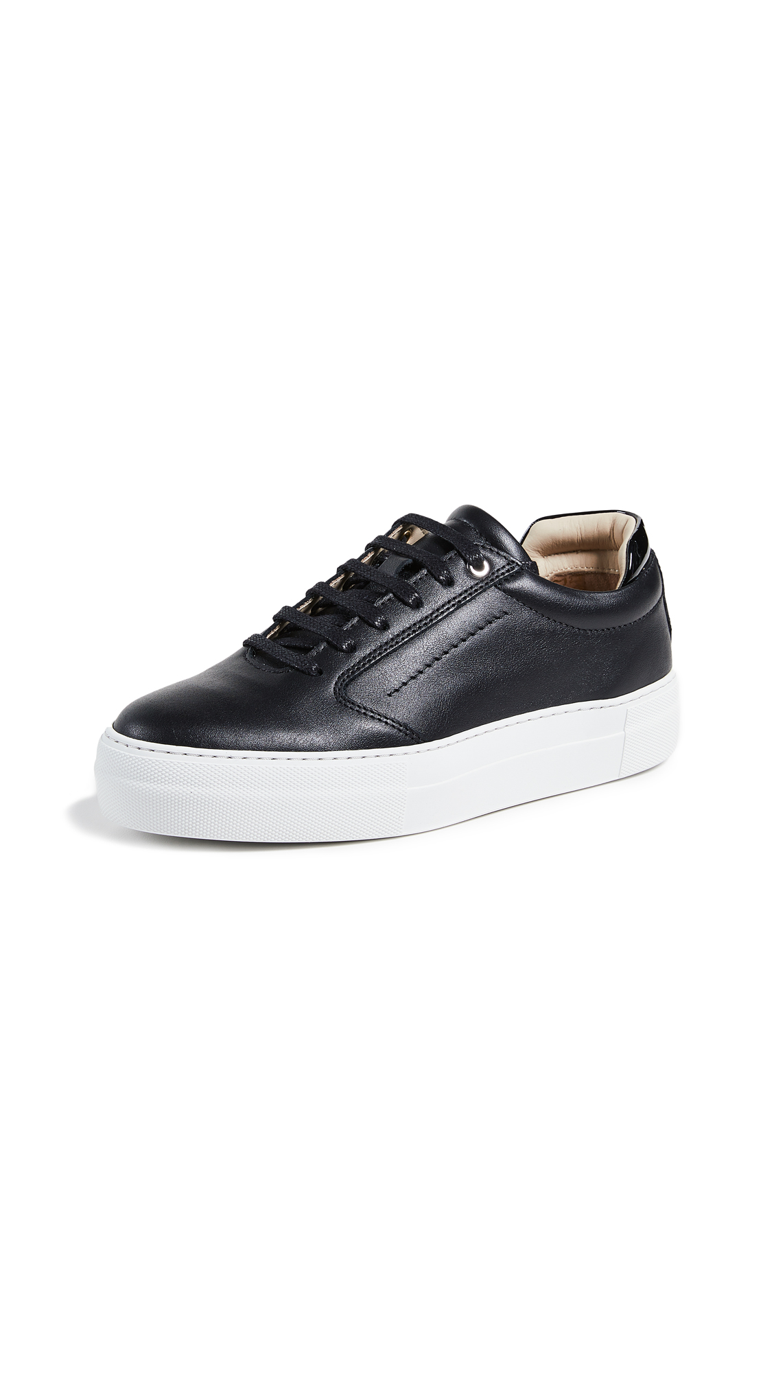 WANT Les Essentiels Lalibela Sneakers - Black/White