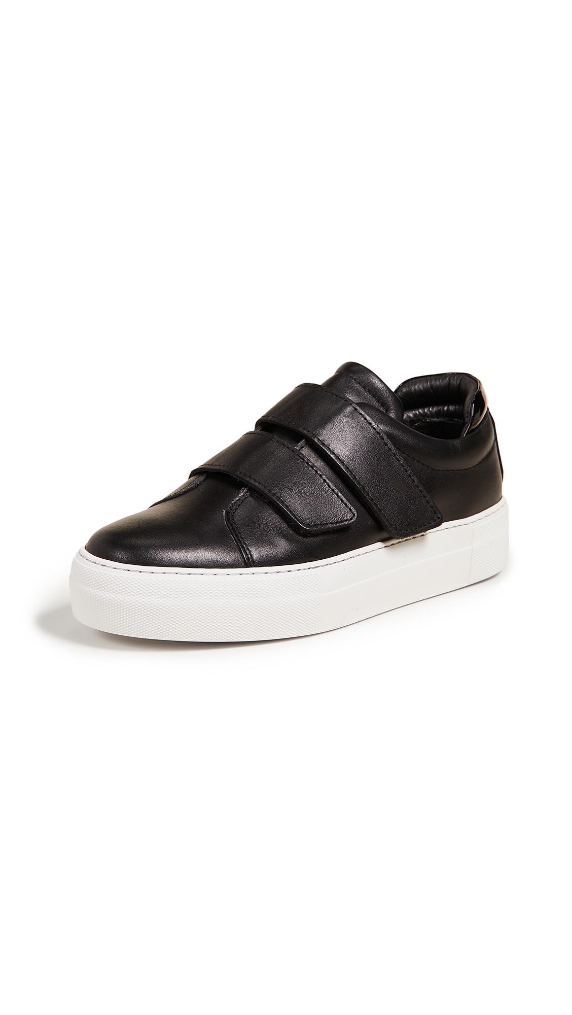 WANT Les Essentiels Lalibela Velcro Strap Sneakers - Black
