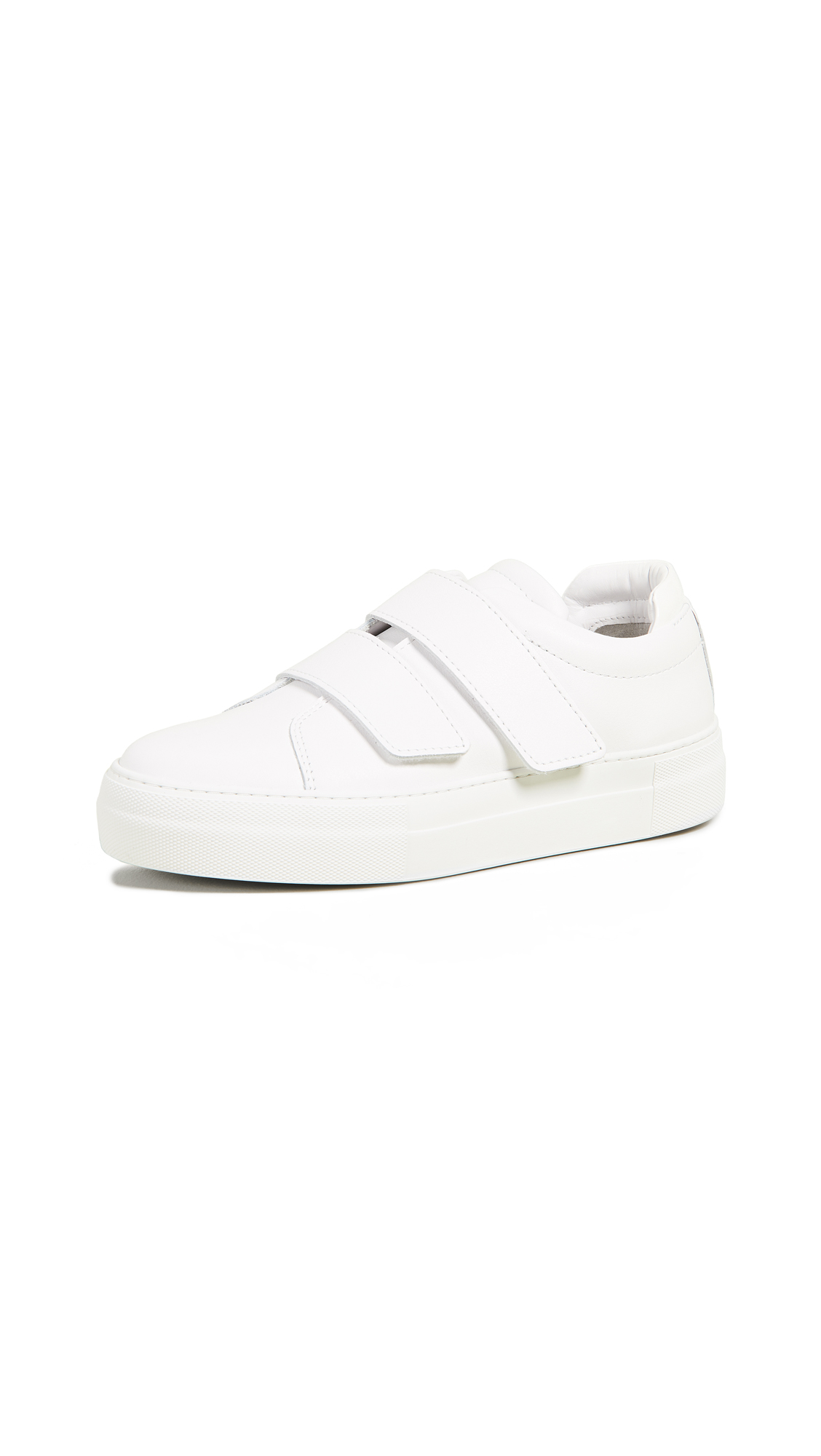 WANT Les Essentiels Lalibela Velcro Strap Sneakers - White