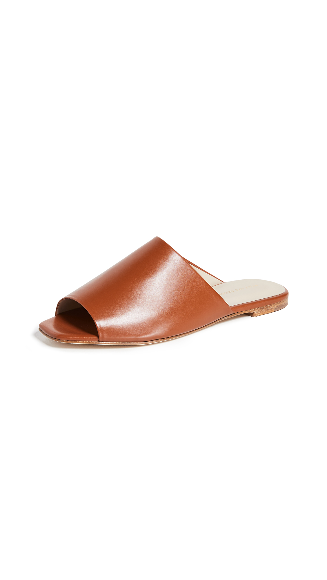 WANT Les Essentiels Sofia Slide Sandals - Amber