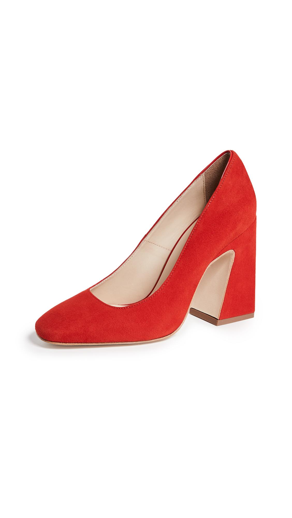 WANT Les Essentiels Daza High Pumps - True Red